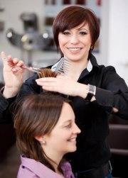 female hairdressers