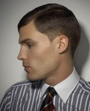 masculine clipper cut hairstyle