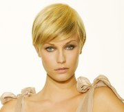 short hairstyle with length
