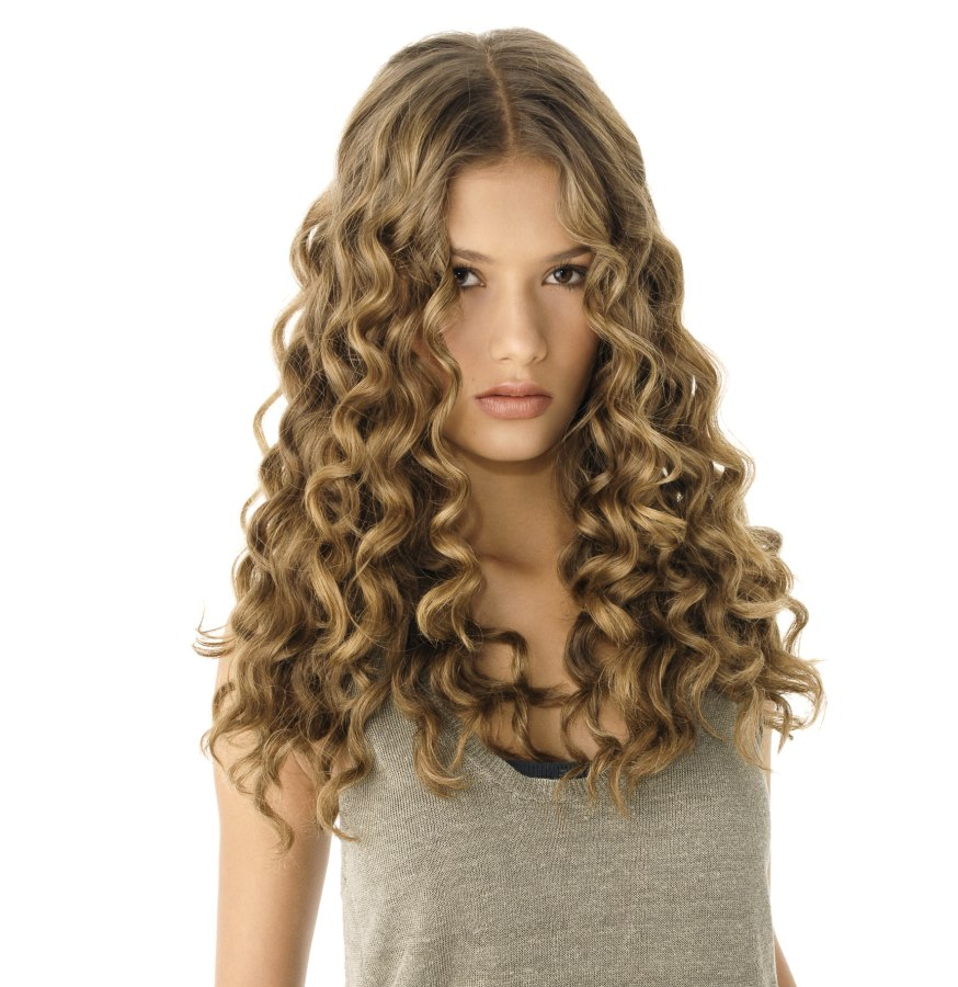 Spiral Curls Long Hairstyles Easy Casual Hairstyles For Long Hair