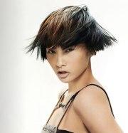 ear-length asian hairstyle
