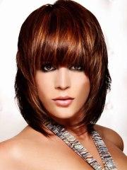 modern neck length hairstyle