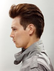 short mens haircut with quiff
