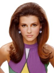 long 60s volume hairstyle