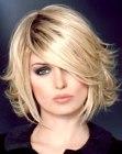medium hairstyle - Lucie Saint-Clair