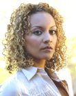 medium hairstyle - Strictly Curls