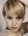 short hairstyle - Lisa Shepherd Salons