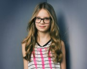 long hairstyle girls with glasses