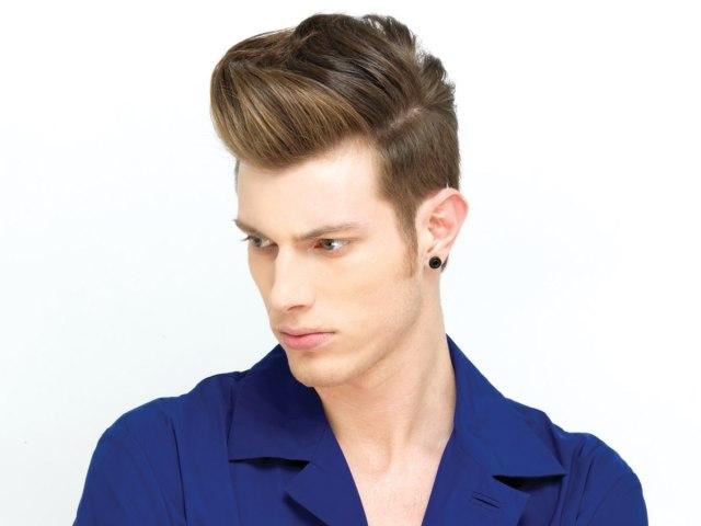 stylish undercut hair for men