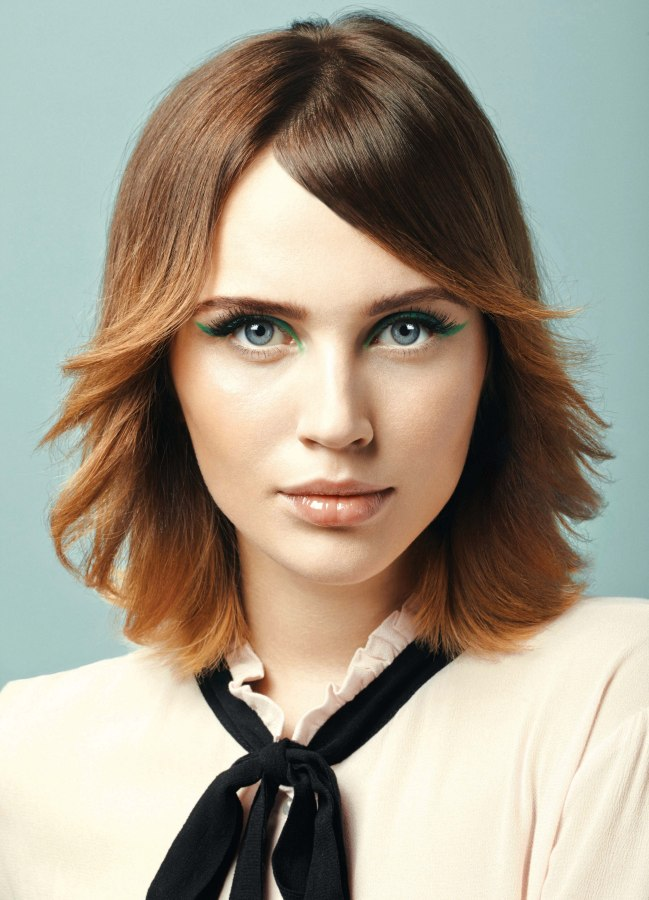 Hairstyle For Fine Hair With Medium Density