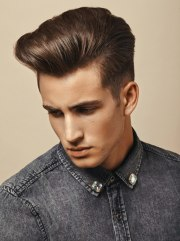 neat short and sides hairstyle