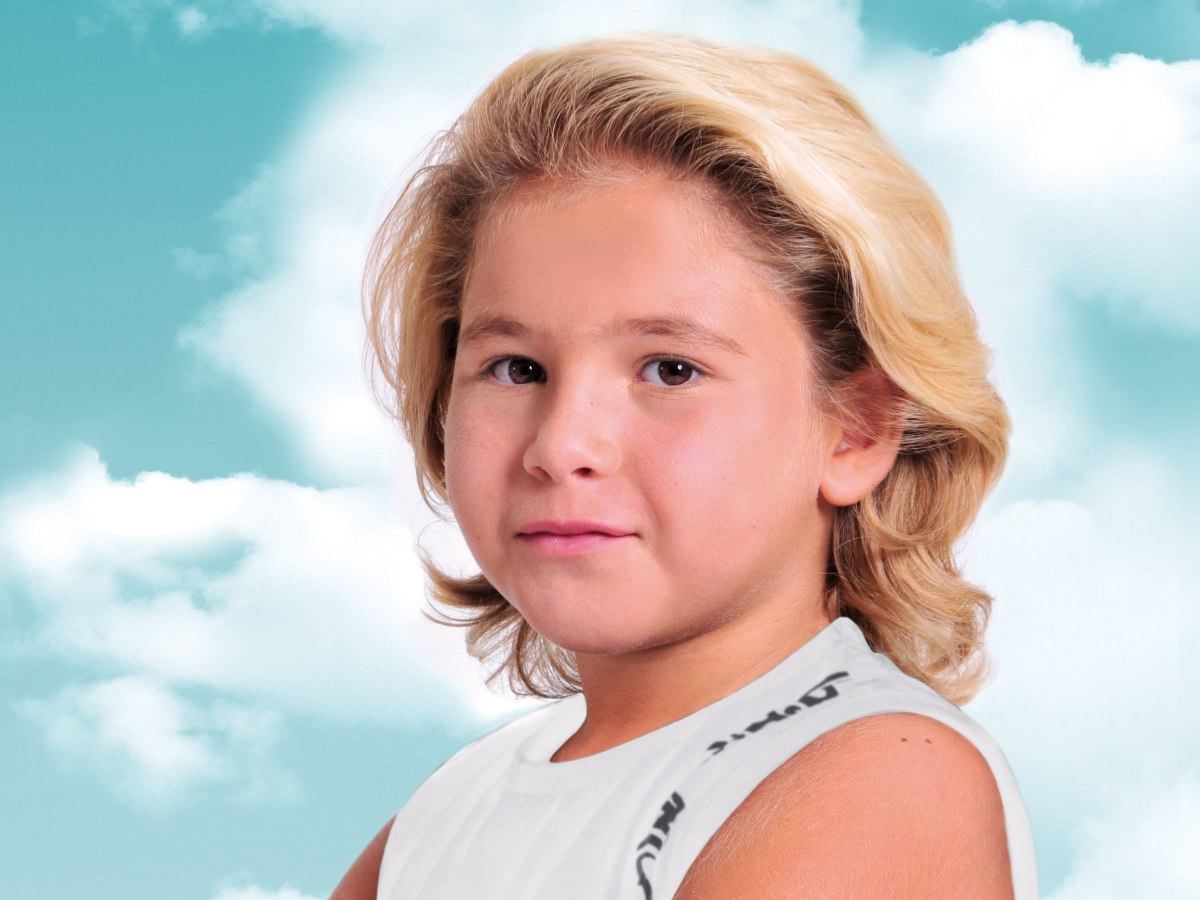 Surfer Look For Little Boys With Hair That Is On The
