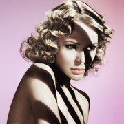 medium long 1940s hairstyle