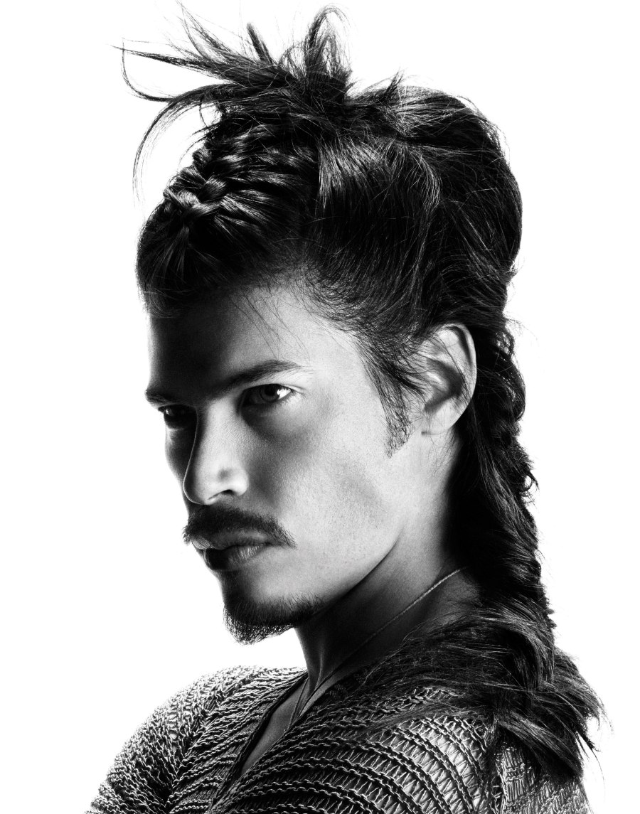Tribal Warrior Like And Real Men's Hairstyles