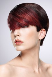 short hairstyle with versatile