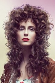 long hairstyle with baroque