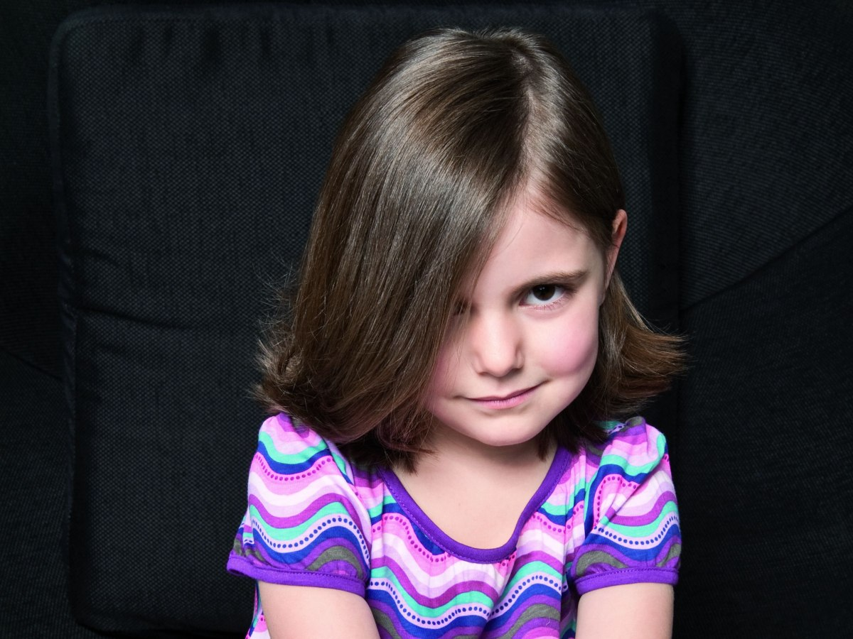 Shoulder Length Bob Hairstyle For A Grown Up Little Girl