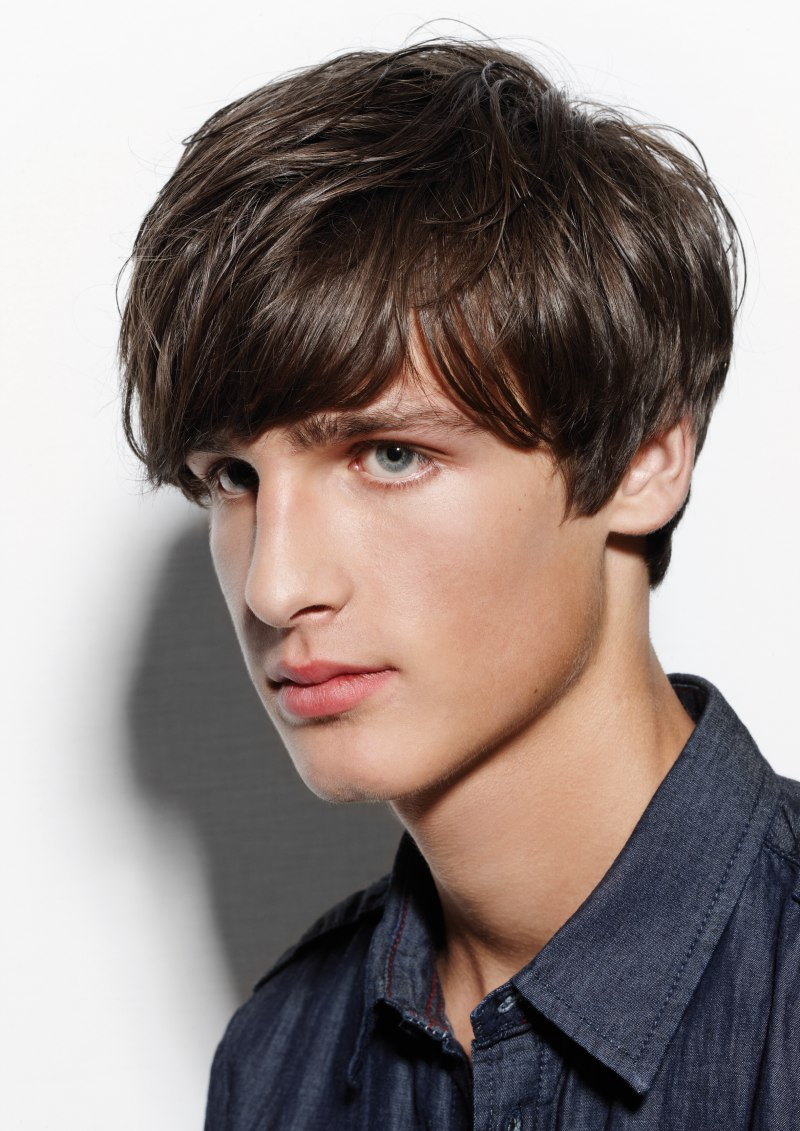 Beatles Haircut Or Mushroom Cut Side View