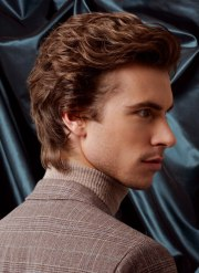 timeless male hairstyle longer