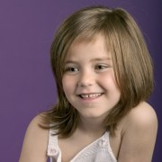 modern hairstyle young girls