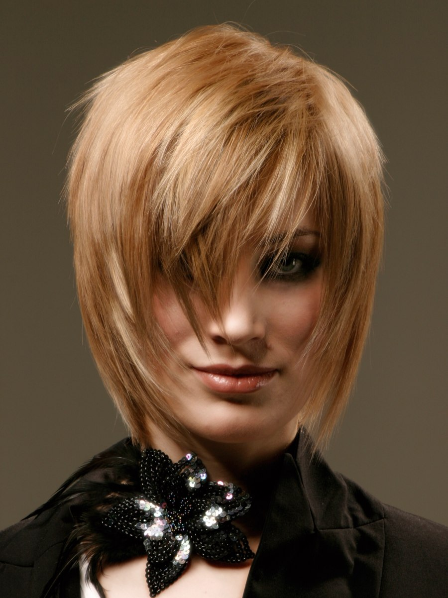 Modern Shag Cut With Sophistication And Fashionable Flair