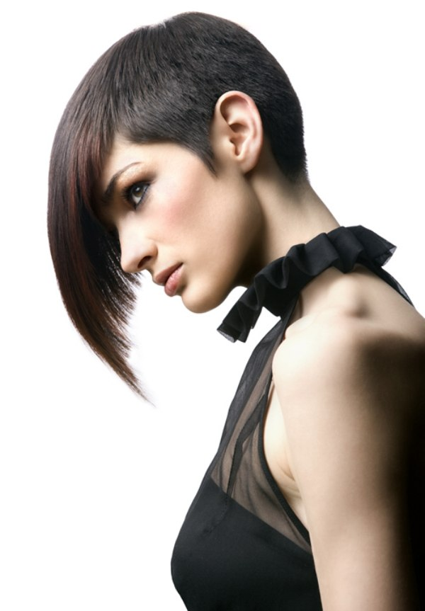 Hairstyles Long In Front Short Back Pictures Easy Casual
