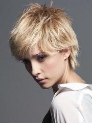 feminine short hairstyles fade