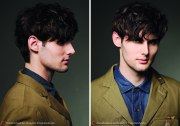 contemporary hairdo men