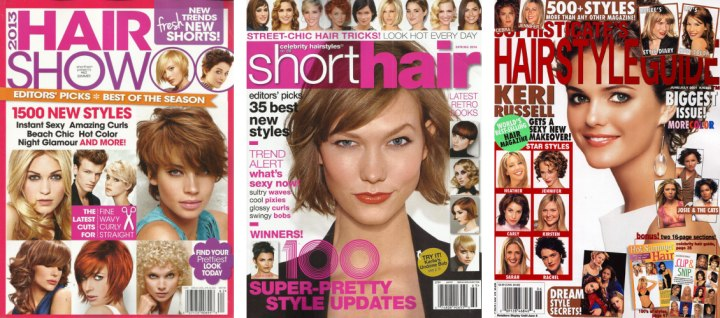 hair magazines and publications