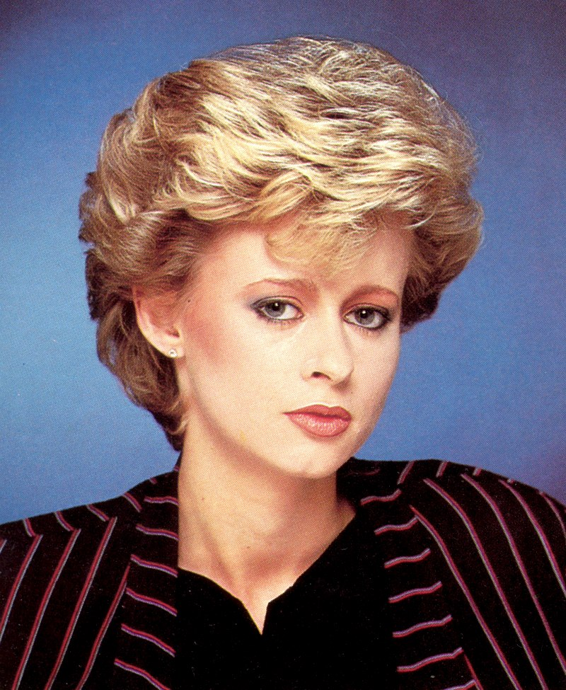 Graduated 1980s Haircut