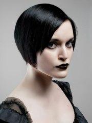 striking and glamorous short gothic