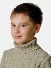 short haircut with hair