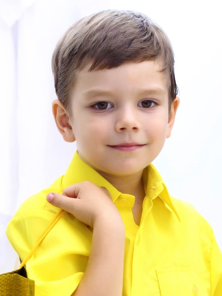 Neat Haircut For Young And Little Boys