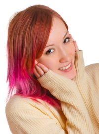 Temporary hair color for fun | Hair chalk and temporary ...
