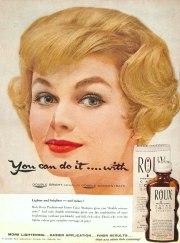 roux creme color shampoo vintage