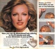 1978 vintage hair ad clairol