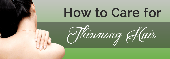 Tips for thinning hair