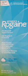 Treating Androgenetic Alopecia with Women's Rogaine