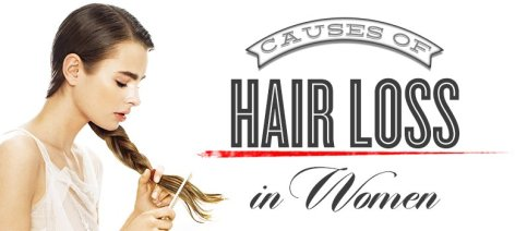 Causes of womens hair loss