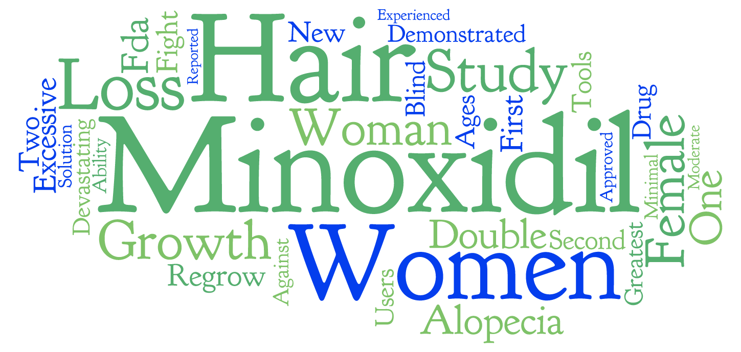 Minoxidil for women