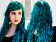teal hair dye brands dark