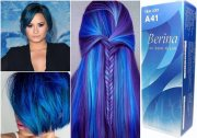 permanent blue hair dye