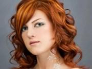 orange hair dye bright light