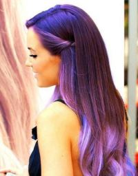 Plum Hair Color Dye, Deep Black Plum Ideas for Brown Hair ...