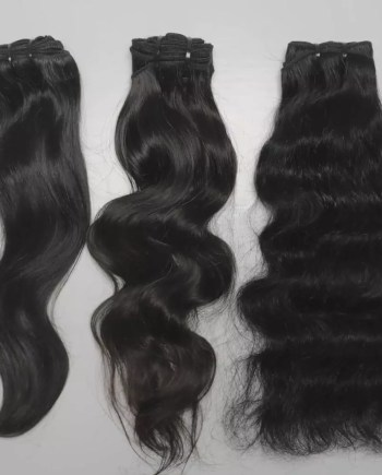 Most hair vendors can't ever touch this quality of hair extensions. Raw and Indian temple hair.