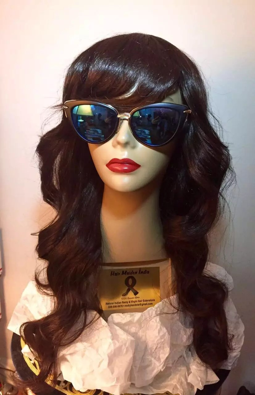 lace wig with indian hair