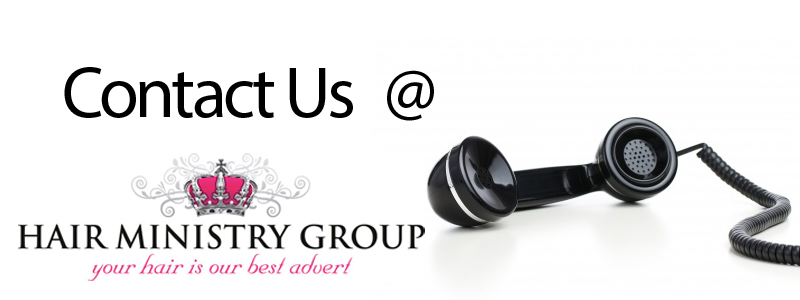 Contact Us at the Hair Ministry Salons in Ipswich
