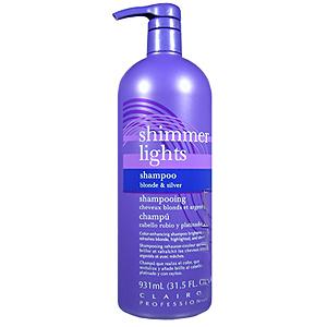 clairol shimmer lights shampoo for gray white hair 16oz ebay
