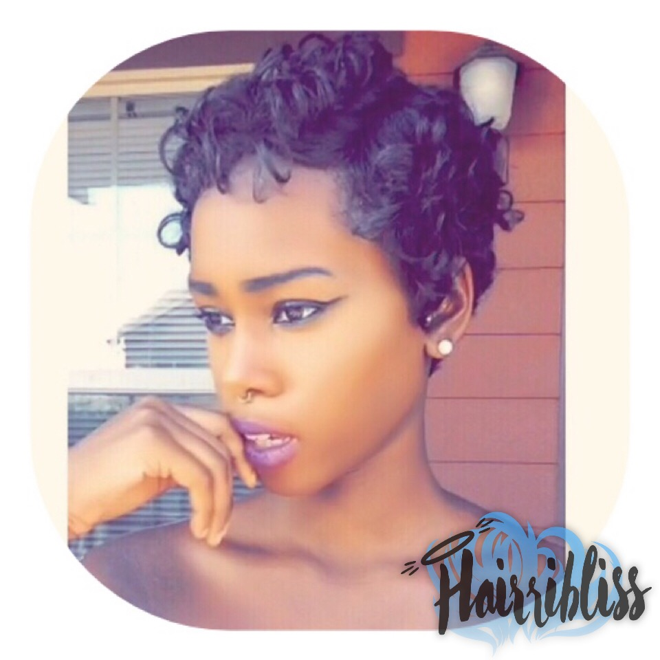 Kinky Curly Short Hairstyles Page 1