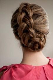 braided upstyle - hair romance